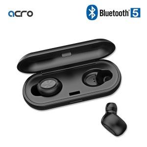 ACRO X1 블루투스 무선이어폰 5.0 블랙 차이팟