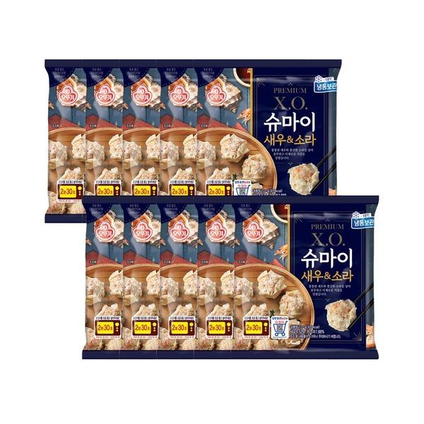 X.O.슈마이 새우소라 133g X 10개 유통기한 21년6월3일