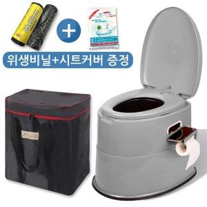 이동식 좌변기 양변기 휴대용 변기 요강 캠핑용