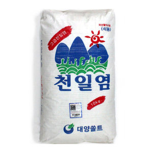 탈수천일염 소금 천일염 왕소금 10kg 고급 국내산