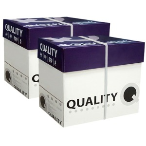 퀄리티 A4 복사용지(A4용지) 80g 2BOX (5000매)