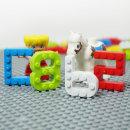 글자 숫자블럭 지퍼형 레고호환 (한글/영어/숫자) 블럭장난감