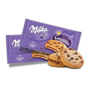 밀카 초콜릿 센세이션 182g 3개 간식 과자 쿠키