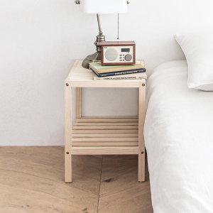 원목 미니 테이블 침대협탁 사이드테이블
