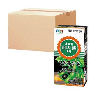 달콤한 베지밀B 검은콩 두유 190ml 64팩