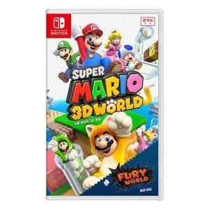닌텐도 스위치 슈퍼 마리오 3D 월드 + 퓨리 월드 c