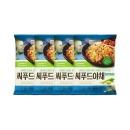 풀무원 씨푸드야채 철판볶음밥 406g 4봉(8인분)