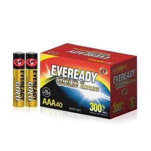 에너자이저 에버레디 알카라인 건전지 AAA 40입 - 상품 이미지