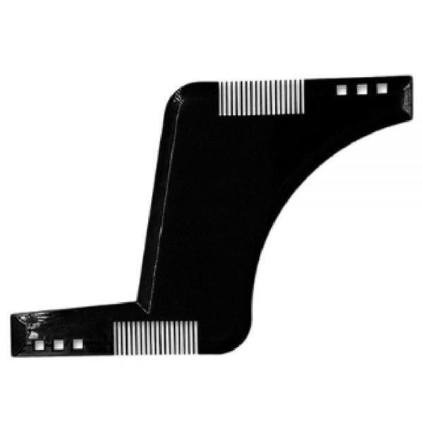 턱수염모형대003 수염 모양정리 자 미용 뷰티수염가위