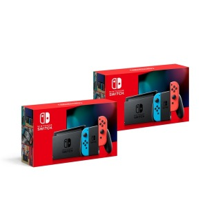 정품 닌텐도 스위치 Nintendo Switch HAD 네온블루