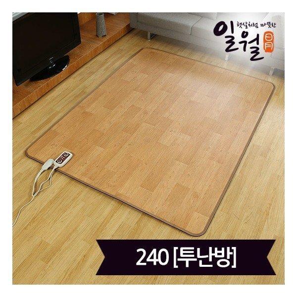 일월매트   일월 탄소 면상 발열 카페트 매트(183x240)_투난방