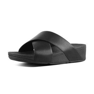 루루크로스 슬라이드 블랙 굽높이45cm FFSO0E201