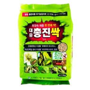 대유 총진싹 1.5kg 고추 총채벌레 진딧물 토양살충제