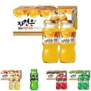 (용량 180ml) 자연은 오렌지 12병x4set/쥬스/음료
