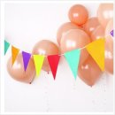 비비드 펠트삼각가랜드 행사 파티/가렌드/생일/가랜더