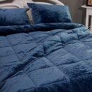 (S 그레이) 모네로 초극세사 차렵이불패드세트/침대