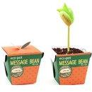 에코팟_메시지콩 식물키우기 화분 정원/종이/미니