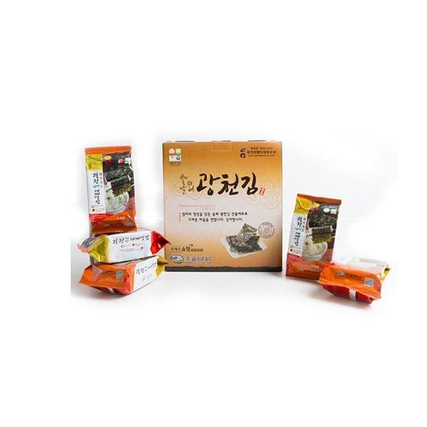 (15봉) 광천 재래 식탁김 15봉 조미 구운