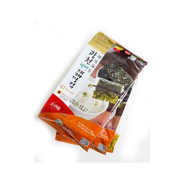 (36봉) 광천 재래 도시락김 조미 구운/선물