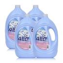 기분좋은향기 샤프란 섬유유연제 프레쉬 3.1L 4개