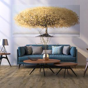 금화나무 대형 황금액자 돈들어오는 그림 개업선물