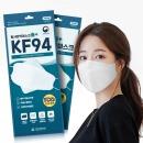KF94 국산 마스크 의약외품 식약처인증 개별포장 100EA