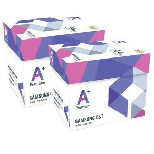 프리미엄 A+ A4 복사용지 A4용지 80g 2500매 2박스