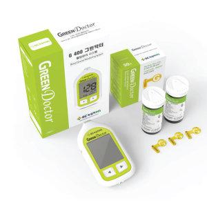 녹십자 그린닥터 혈당 측정기+시험지 100+침110+솜100