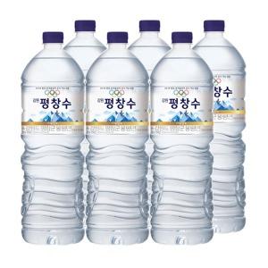 강원평창수 2Lx6펫/ 해태htb/생수/물/음료수