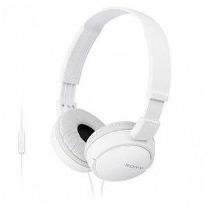 소니 헤드폰 MDR-ZX110AP 화이트 음악헤드폰 패션헤드