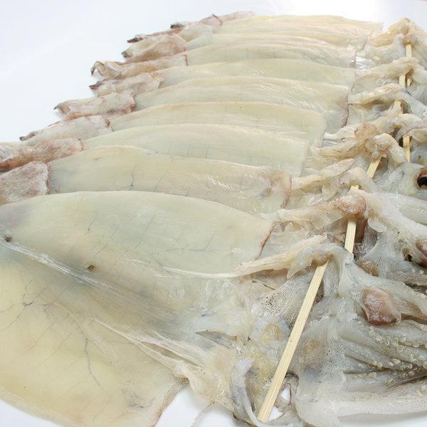 반건조오징어 피데기 오징어 10마리(약900g) 동해안發