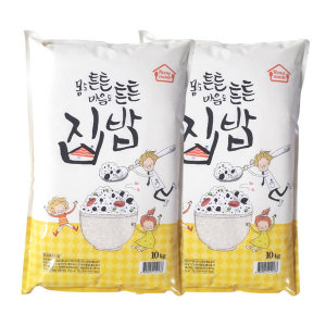 집밥 쌀 20kg /2020년쌀(10kgx2봉)진공포장