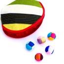 색동실공기와 전통지갑/공기놀이/수공예공기/전통놀이