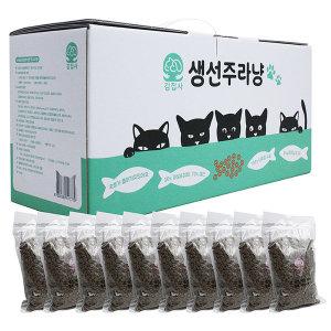 김집사 프리미엄 고양이사료 생선주라냥3kg 생선70%