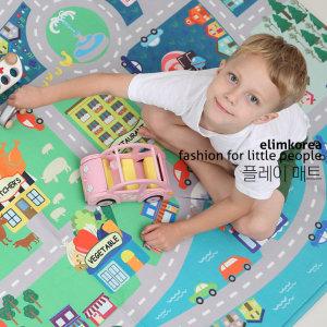 아동 놀이방 플레이 매트 빌리지