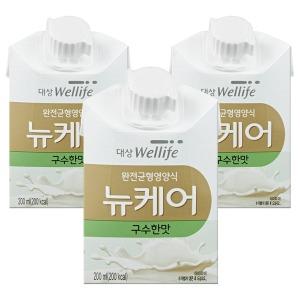 구수한맛 200ml x 30팩 /환자식/영양식/그린비아/대상