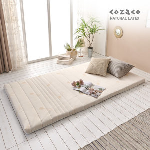 코자코 천연라텍스 5cm 슈퍼싱글 매트리스 / 밀도85kg