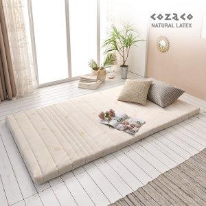 코자코 천연라텍스 7.5cm 슈퍼싱글 매트리스 /밀도85kg