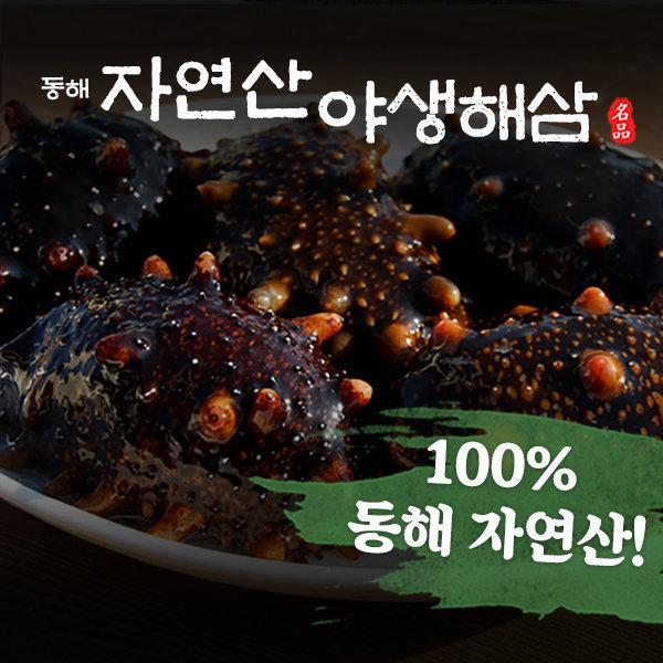 (옥션만족도1위) 100% 동해안 자연산 해삼 1kg (대)