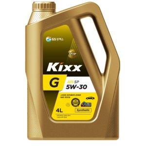 KIXX G 5W30 SP 4L 가솔린 엔진오일 (구 Sn Plus)