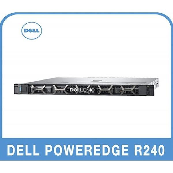 DELL DELL PowerEdge R240 E-2224 8G/4T/250W Base