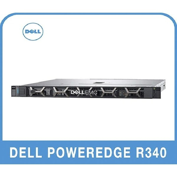 DELL PowerEdge R340 E-2234 8G/1Tx2/H330/350W Base