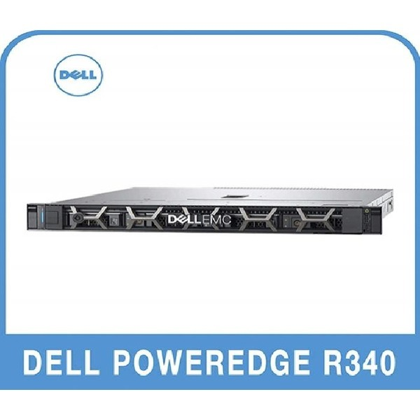 DELL PowerEdge R340 E-2134 16G/16T(4x4)/H330/350W