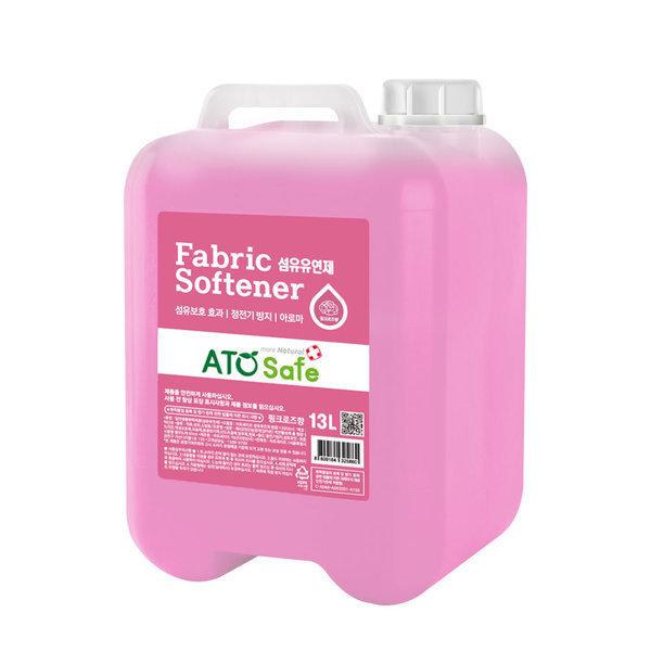 로하스인증 섬유유연제 핑크로즈 13L 1개