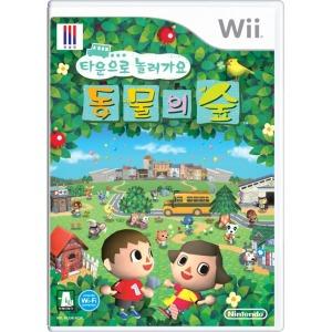 (Wii) 닌테도 위 타운으로 놀러오세요 동물의 숲 정발