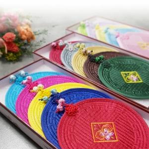 컵받침/전통공예품/한국선물/컵받침대/외국인 기념품