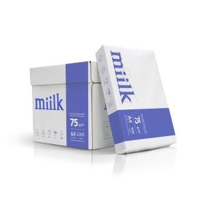 한국제지 밀크 75g A4 복사용지 2BOX (4000매)