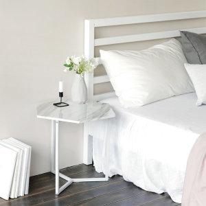 노르딕 육각 테이블 사이드테이블 침대협탁 거실테이블
