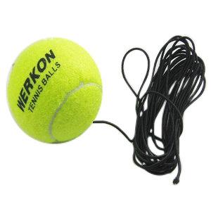 셀프 트레이닝 툴 세트 공 리턴볼 운동 테니스공 A형