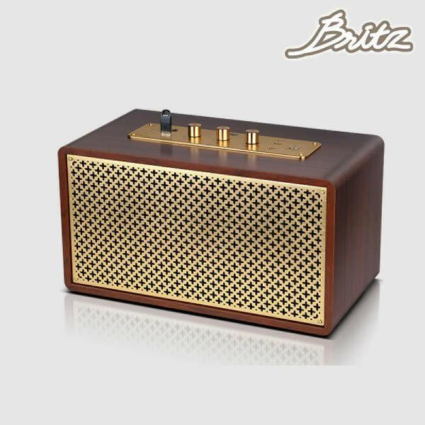 (현대Hmall)브리츠 BZ-JB5605 레트로 블루투스스피커